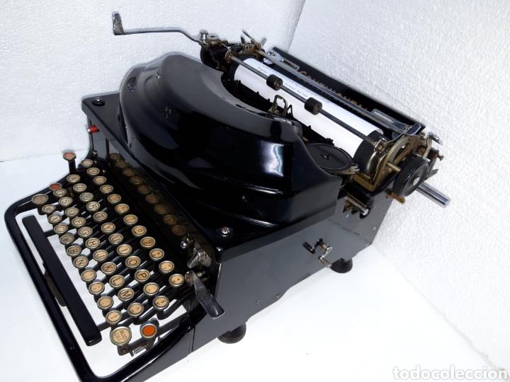 Antigüedades: ANTIGUA MAQUINA DE ESCRIBIR TYPEWRITER SCHREIBMASCHINE CONTINENTAL SILENTA - Foto 4 - 220732747