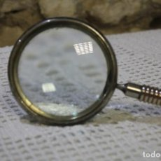 Antigüedades: ANTIGUA LUPA DE METAL. Lote 220736845