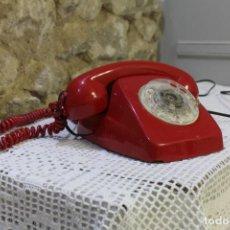 Teléfonos: ANTIGUO TELEFONO ROJO CITESA MALAGA. Lote 220742443
