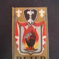 Antigüedades: BETER FLOR DE LIS 0.06. ANTIGUA HOJA DE AFEITAR. CONTIENE LA HOJA. Lote 51089726