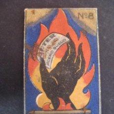 Antigüedades: BETER MANO NEGRA. ANTIGUA HOJA DE AFEITAR. CONTIENE LA HOJA. Lote 51089748