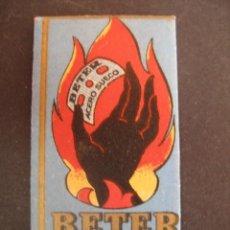 Antigüedades: BETER MANO NEGRA Nº8. ANTIGUA HOJA DE AFEITAR. CONTIENE LA HOJA. Lote 51089772