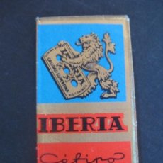Antigüedades: IBERIA CEFINO. ANTIGUA HOJA DE AFEITAR. CONTIENE LA HOJA. Lote 51089848