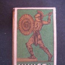 Antigüedades: INVICTA. ANTIGUA HOJA DE AFEITAR. CONTIENE LA HOJA. Lote 51090046