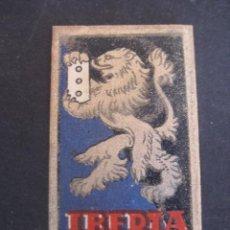 Antigüedades: IBERIA DE LUJO 0,50 PTAS. ANTIGUA HOJA DE AFEITAR. CONTIENE LA HOJA. Lote 51089928