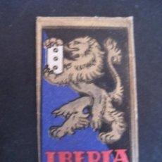 Antigüedades: IBERIA DE LUJO 0,65 PTAS. ANTIGUA HOJA DE AFEITAR. CONTIENE LA HOJA. Lote 51089942