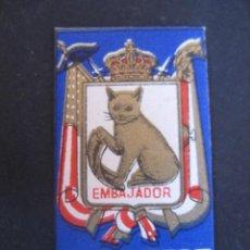 Antigüedades: KRON - VEST EMBAJADOR ACANALADA Nº 1. ANTIGUA HOJA DE AFEITAR. CONTIENE LA HOJA. Lote 51090121