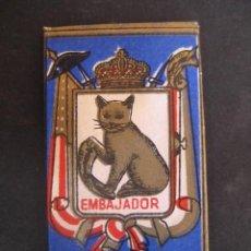 Antigüedades: KRON - VEST EMBAJADOR ACANALADA Nº 2. ANTIGUA HOJA DE AFEITAR. CONTIENE LA HOJA. Lote 51090136
