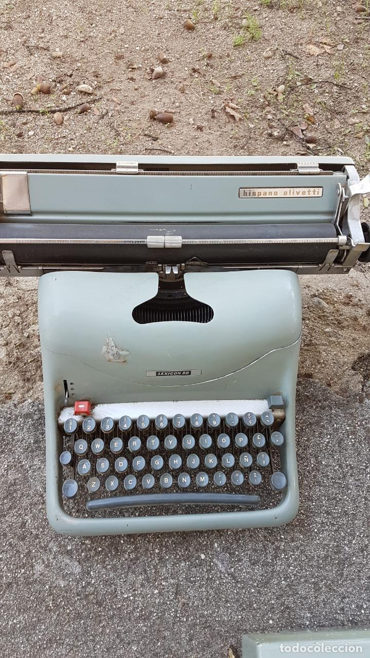 Antigüedades: Lote 3 máquinas de escribir Lexicon - Foto 2 - 220800355