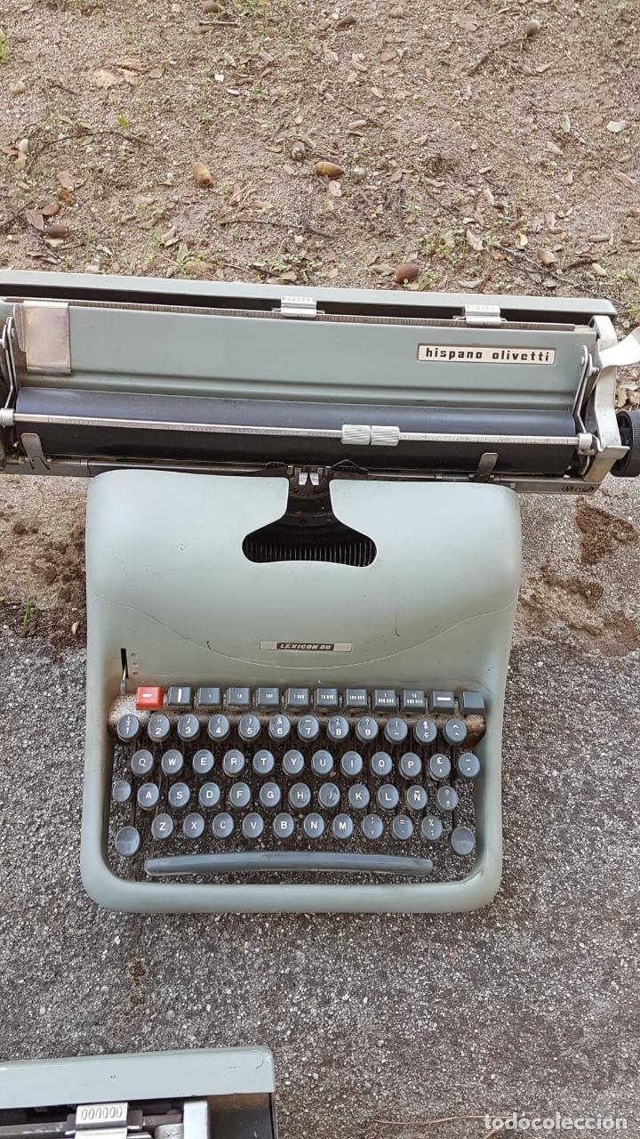 Antigüedades: Lote 3 máquinas de escribir Lexicon - Foto 3 - 220800355