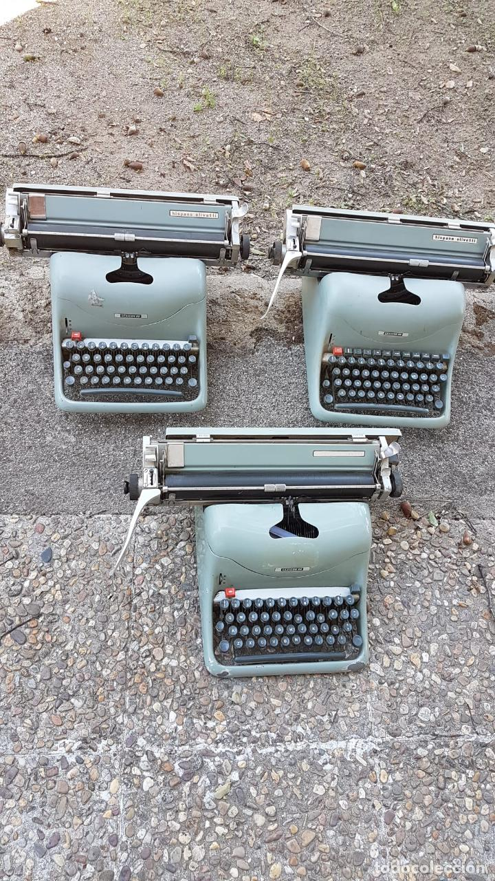 Antigüedades: Lote 3 máquinas de escribir Lexicon - Foto 5 - 220800355