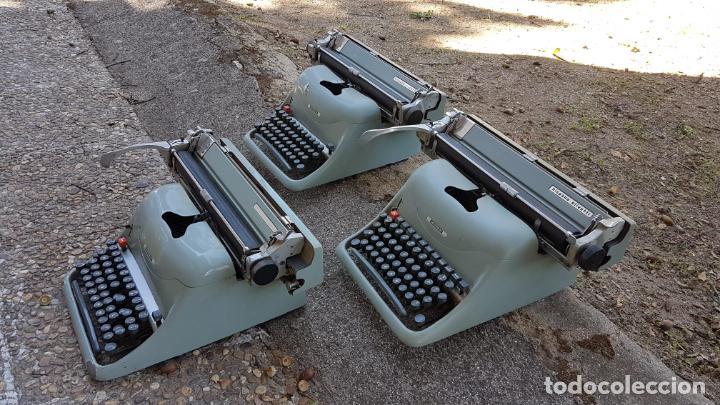 Antigüedades: Lote 3 máquinas de escribir Lexicon - Foto 6 - 220800355