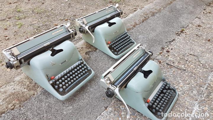 LOTE 3 MÁQUINAS DE ESCRIBIR LEXICON (Antigüedades - Técnicas - Máquinas de Escribir Antiguas - Otras)