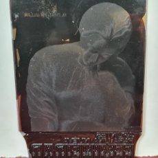 Antigüedades: PLACA DE IMPRESION DE IMPRENTA EN NEGATIVO. M.D. RAICH ULLAN. SIGLO XX.. Lote 220813913
