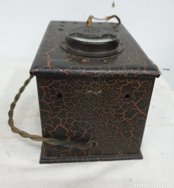 Antigüedades: Voltímetro Alcer - Foto 5 - 220875071