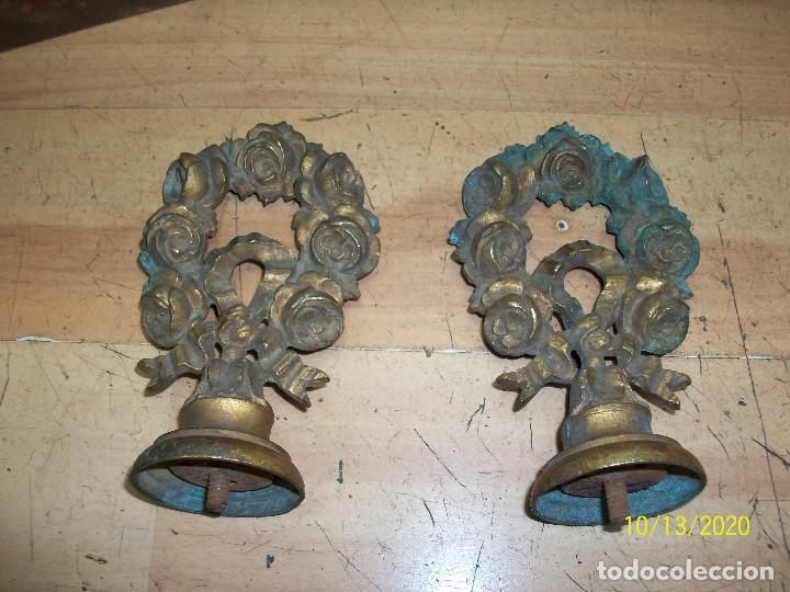 PAREJA DE TIRADORES/POMOS (Antigüedades - Técnicas - Cerrajería y Forja - Tiradores Antiguos)