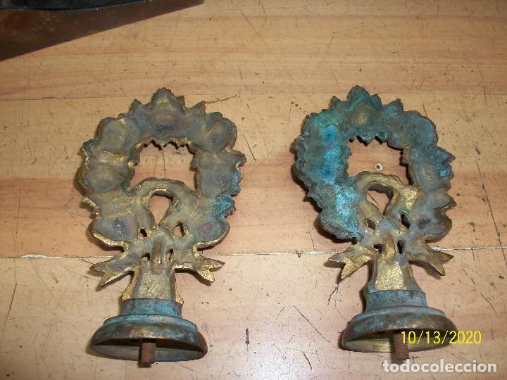Antigüedades: PAREJA DE TIRADORES/POMOS - Foto 3 - 220896911