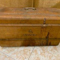 Antigüedades: KAYSER - ANTIGUA TAPA DE MAQUINA DE COSER.. Lote 220934996