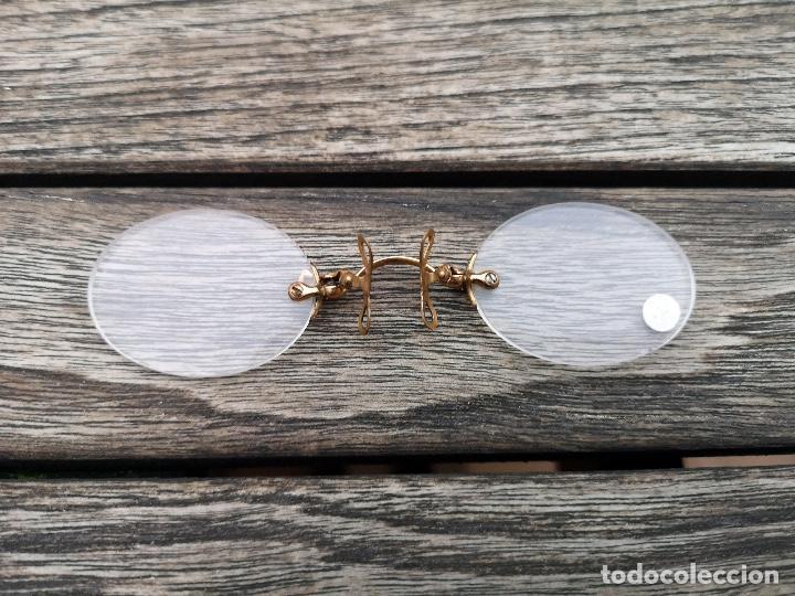 Antigüedades: Lote con dos anteojos antiguos inicio siglo XX - Foto 2 - 220954747