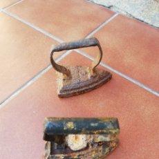 Antigüedades: ANTIGUAS PLANCHAS DE HIERRO. Lote 220961316