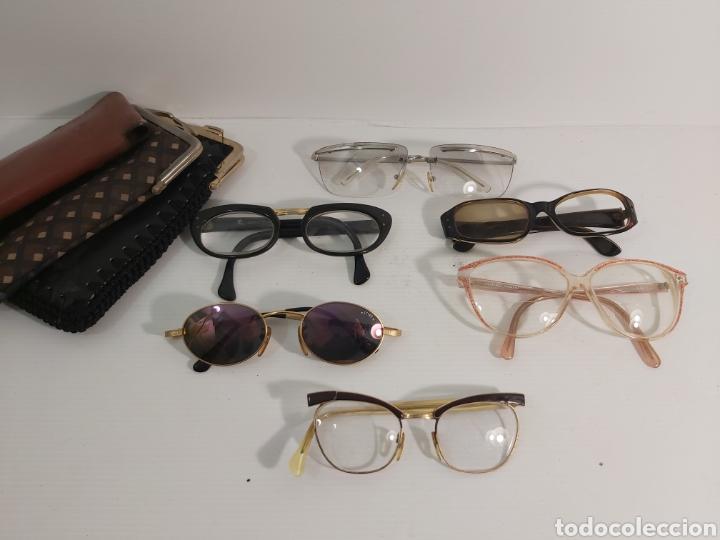 GAFAS VINTAGE 6 UNIDADES Y 3 FUNDAS (Antigüedades - Técnicas - Instrumentos Ópticos - Gafas Antiguas)