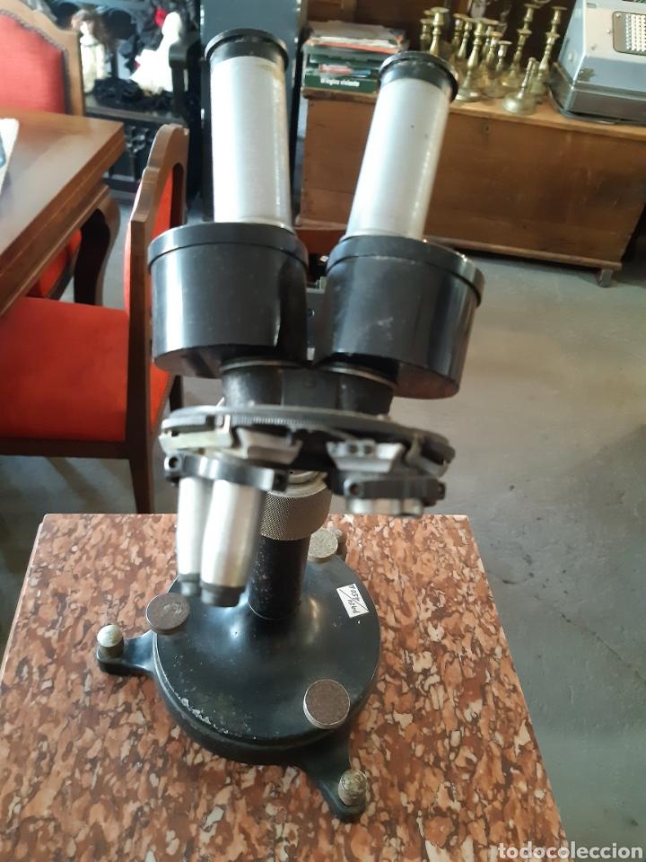 Antigüedades: Microscopio CARL ZEISS JENA Nr 5028 - Foto 2 - 220969417