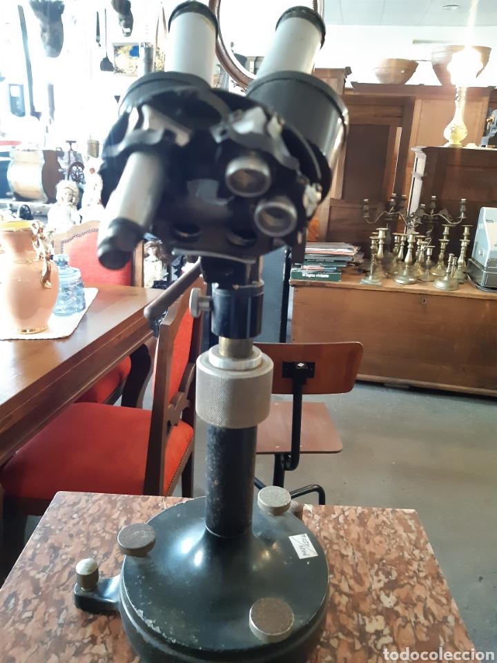 Antigüedades: Microscopio CARL ZEISS JENA Nr 5028 - Foto 3 - 220969417