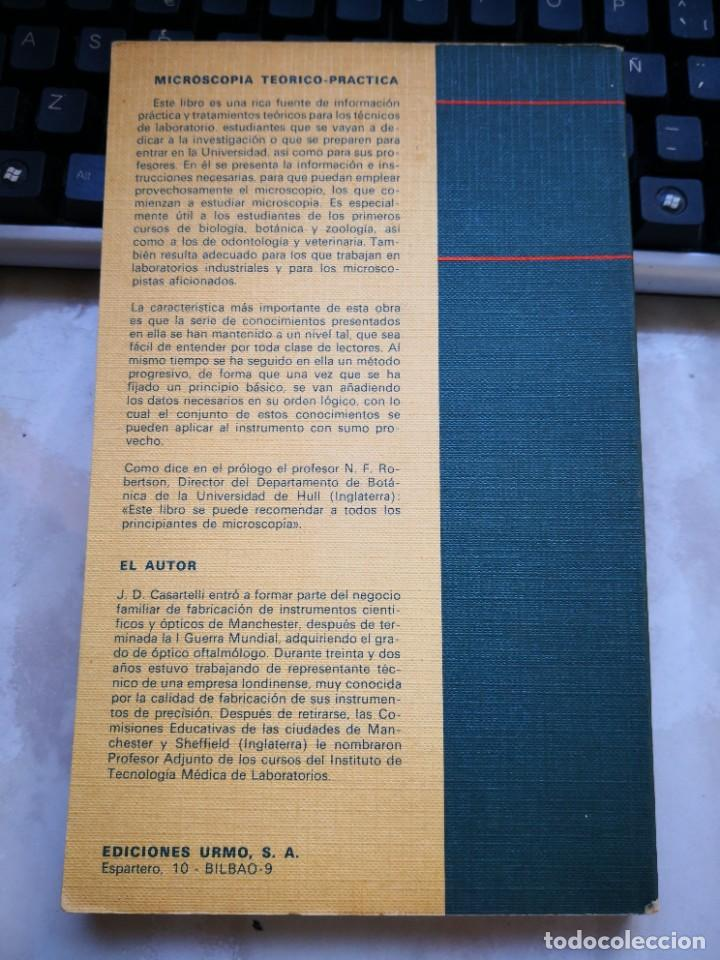 Antigüedades: MICROSCOPIA TEÓRICO PRÁCTICA, CASARTELLI - Foto 2 - 220946418