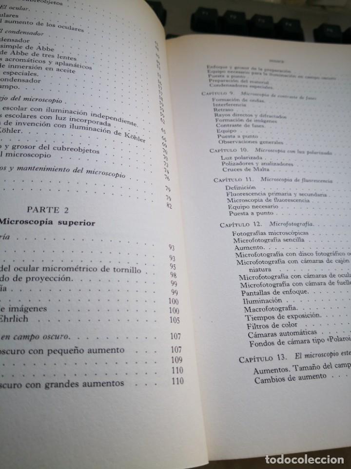 Antigüedades: MICROSCOPIA TEÓRICO PRÁCTICA, CASARTELLI - Foto 7 - 220946418