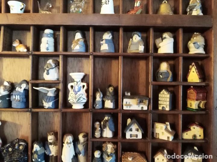 Antigüedades: SMS- Cajon IMPRENTA con unas 150 figuritas - Foto 3 - 221000921