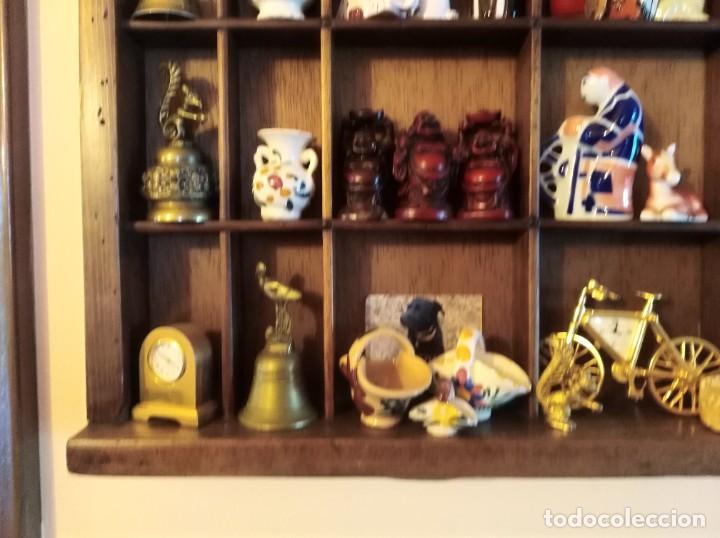 Antigüedades: SMS- Cajon IMPRENTA con unas 150 figuritas - Foto 8 - 221000921