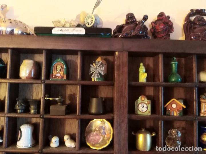 Antigüedades: SMS- Cajon IMPRENTA con unas 150 figuritas - Foto 9 - 221000921