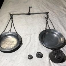 Antigüedades: BALANZA ROMANA ANTIGUA. Lote 221077273