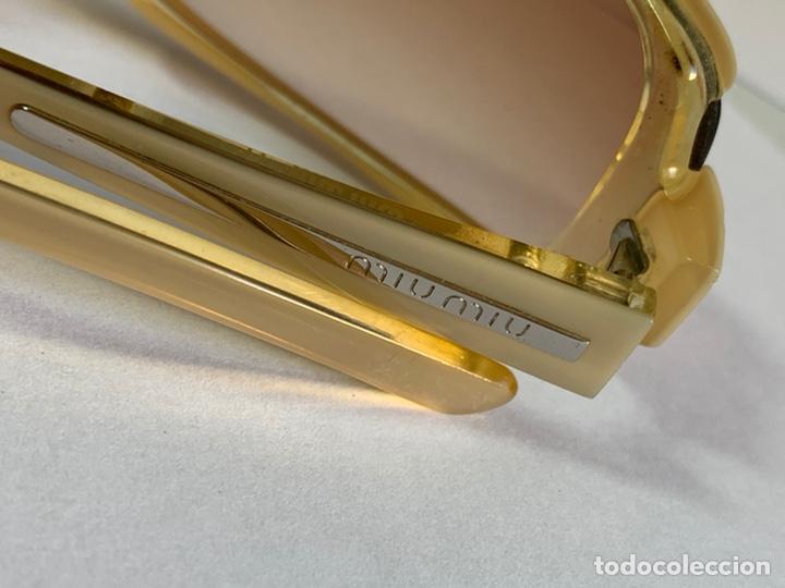 Antigüedades: GAFAS DE SOL MIU MIU 13E 2BZ-1Z1 ORIGINAL Perfecto Estado - Foto 7 - 221081355