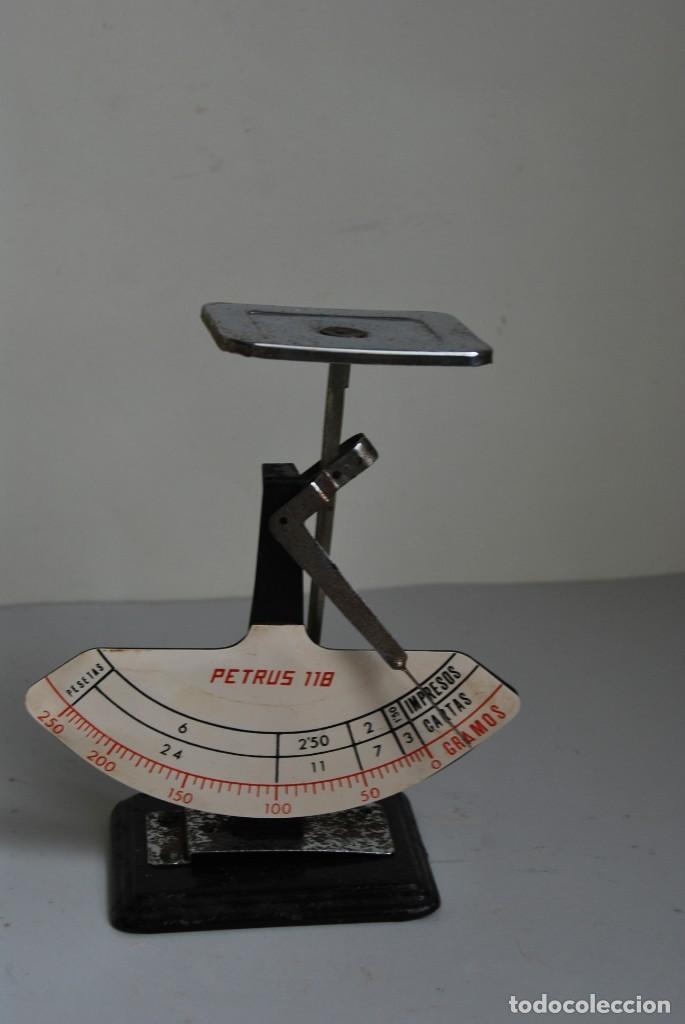 PESACARTAS PETRUS 118 - BALANZA - 250 GR. - AÑOS 60 (Antigüedades - Técnicas - Medidas de Peso - Básculas Antiguas)