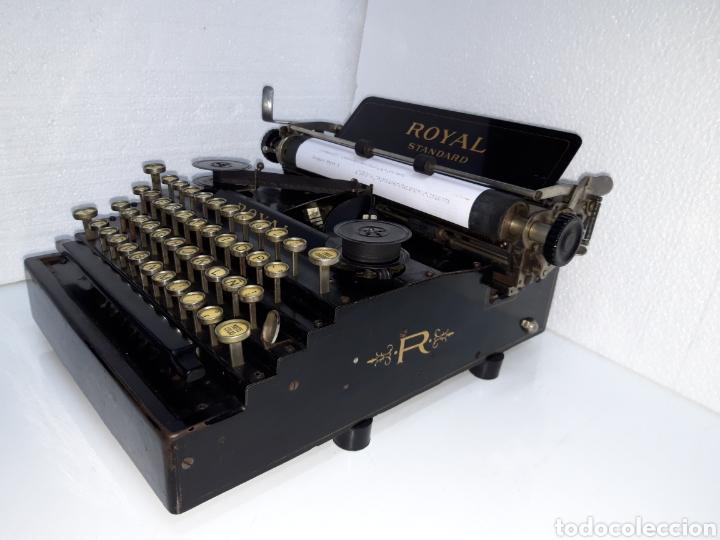ANTIGUA MAQUINA DE ESCRIBIR TYPEWRITER ROYAL 1 (Antigüedades - Técnicas - Máquinas de Escribir Antiguas - Royal)