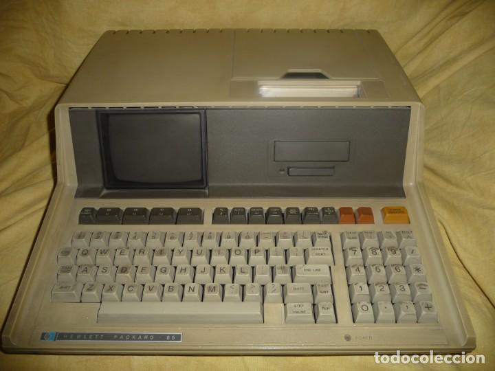Antigüedades: HEWLETT PACKARD 85-TOSHIBA PORT.SATELLITE 220-PORT-AMSTRAD LAPTOR ALT 386 SX. 3 VETERANOS .VER FOTOS - Foto 1 - 221103402