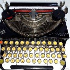 Antigüedades: ANTIGUA MAQUINA DE ESCRIBIR TYPEWRITER DIAMANT 28. Lote 221143817
