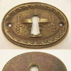 Antiquités: VIEJO BOCALLAVE DE BRONCE. Lote 221143911