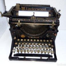 Antigüedades: ANTIGUA MAQUINA DE ESCRIBIR TYPEWRITER UNDERWOOD 5. Lote 221150165