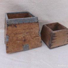 Antigüedades: ANTIGUAS MEDIDAS DE CAPACIDAD PARA GRANOS, S XIX - MIG ALMUD. Lote 221151982