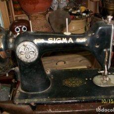 Antigüedades: ANTIGUA CABEZA DE MAQUINA DE COSER SIGMA. Lote 221153571