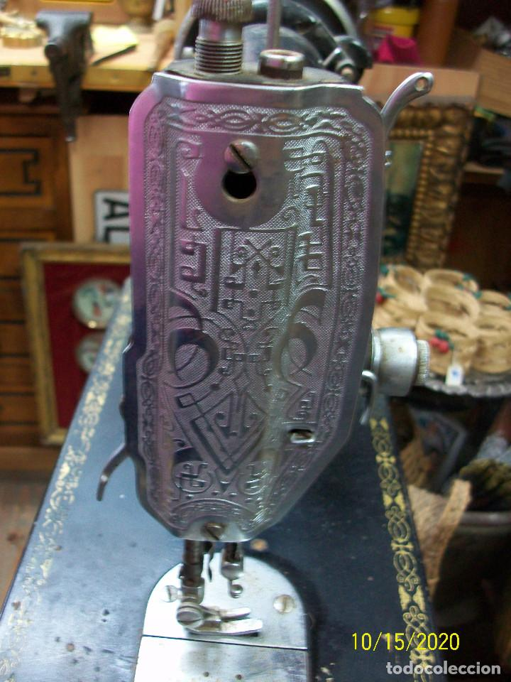 Antigüedades: ANTIGUA CABEZA DE MAQUINA DE COSER SIGMA - Foto 5 - 221153571
