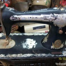 Antigüedades: ANTIGUA CABEZA DE MAQUINA DE COSER SINGER. Lote 221157880