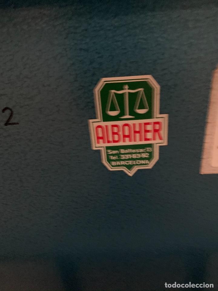 Antigüedades: Bascula albaher tamaño industrial - Foto 3 - 221230310