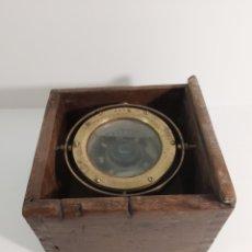 Antigüedades: BRÚJULA DE BARCO GIROSCOPIO. Lote 221242402