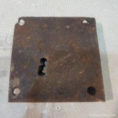 Antigüedades: ANTIGUA CERRADURA SIN LLAVE. Lote 221277862