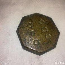 Antigüedades: PONDERAL MALLORCA OCTOGONAL 200 GRAMOS PESA. PESA - PESO MALLORCA. Lote 221354792