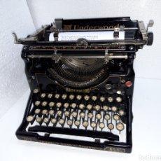 Antigüedades: ANTIGUA MAQUINA DE ESCRIBIR TYPEWRITER UNDERWOOD 5. Lote 221359582