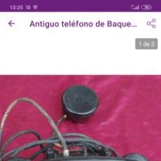 Teléfonos: ANTIGUO TELÉFONO. Lote 221363888